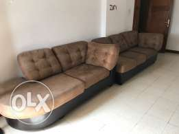 3 + 2 sofa seater bought from Home center in very good condition