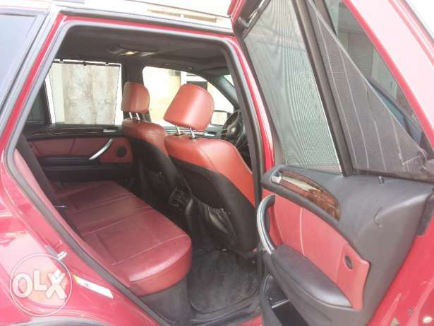 BMW X5 4.6is full OPTIONS agency Oman 2003 free ACCIDENT oreginal PAI مطرح -  7