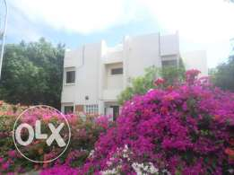 3 + 1 BR Villa in a Closed Compound in Shatti with a Large Garden