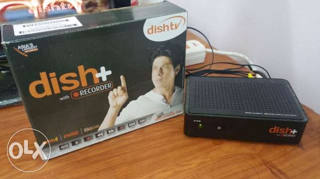 one dishtv receiver along with dish and one month recharge is for sale السيب -  1