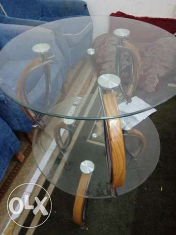 Glass tables 3 pieces