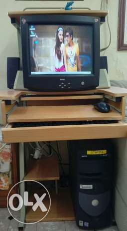 Computer with table for sale