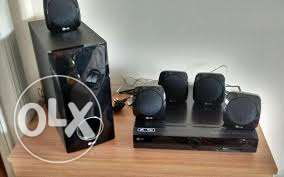 LG sound box and DVD pleyer