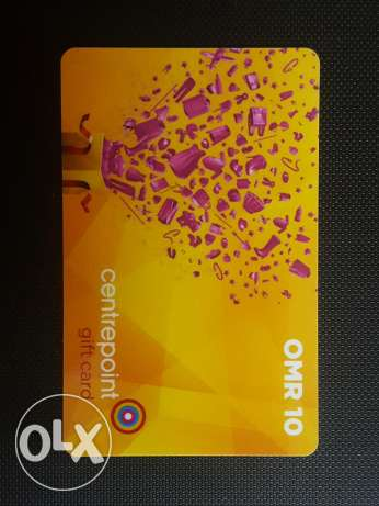 Centrepoint - OMR 10 - Gift Card