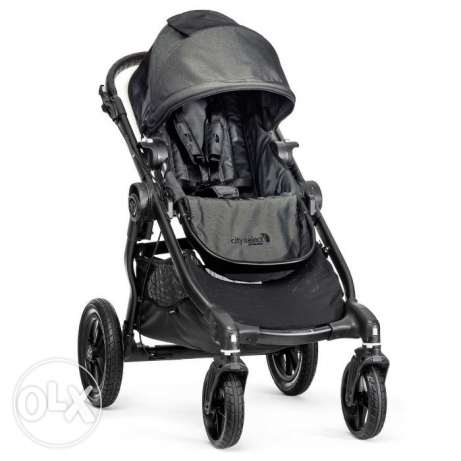 Baby City Select Charcoal Jogger Single Seat Stroller