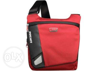 Tumi Ducati Race Deso Small Flap Crossbody Messenger Bag Like New