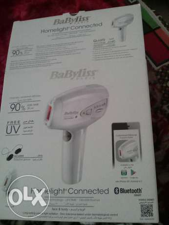 Babyliss homelight lazer hair removal kit new not used box pack for 75