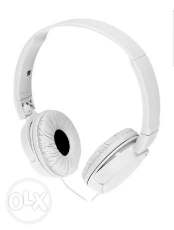 (SOLD) Sony MDR-ZX110 On-Ear Stereo Headphones (White)