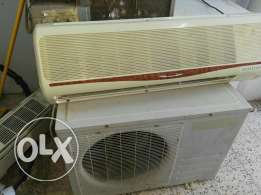 Hi im shamim kabir from al naba ibra muscat oman im sell this ac and h