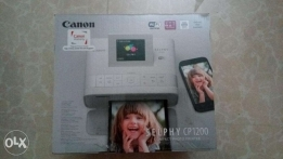 Selphy compact photo printer