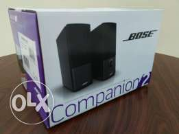 Bose Companion 2 Series III Multimedia Speakers + Free Earphone