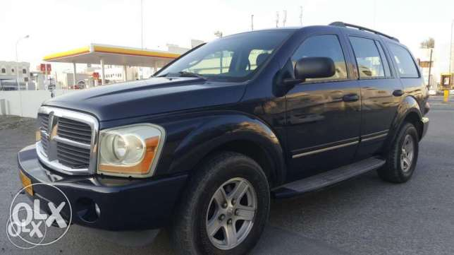 dodge durango 2005 full option very nice car