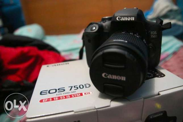 CANON EOS 750D DSLR Camera with EF-S 18-55 mm