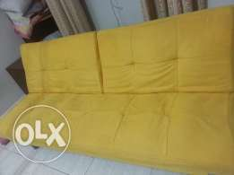 sofa + bed. excellent condition. urgent sale