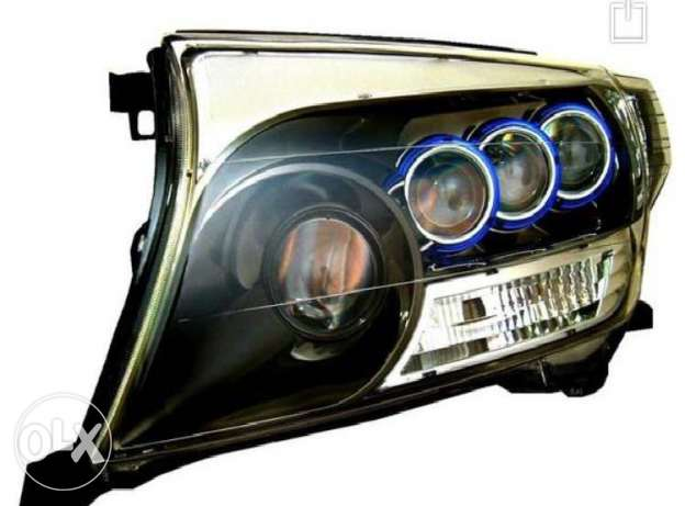 Toyota Land Cruiser Modified Projection Head Lights (Made in Japan)