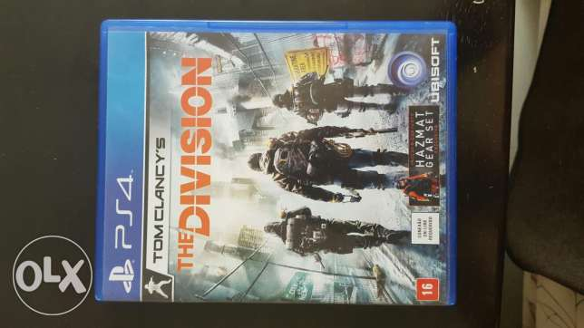Tom clancy's THE DIVISION PS4 .Great condition. Text on WHATSAPP! السيب -  1