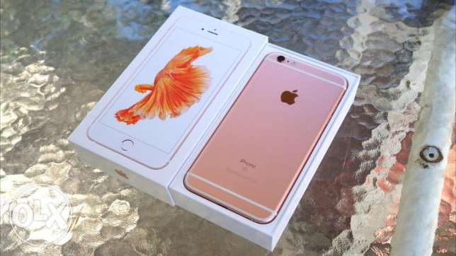 Apple iphone 6s plus 64GB Rose Gold with apple international warranty مسقط -  5