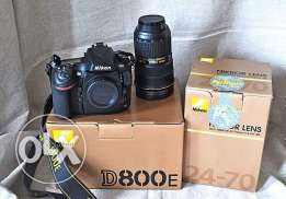 Nikon D800E 36.0 MP DSLR Camera with 24-85mm lens