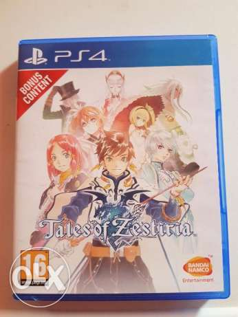 For sale Tales of Zestiria PS4 Game