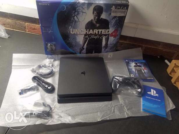 slim Ps4 500gb أصيلة