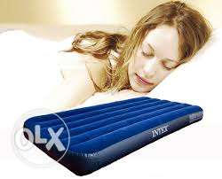 mirakey flocked air bed-191cmx 100cmx 22cm
