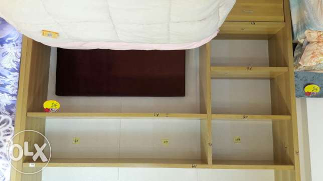 Free of Charge - Wooden display shelves مسقط -  2