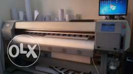 Zhongye 1.8m eco solvent digital printer with DX5 head FOR SALE