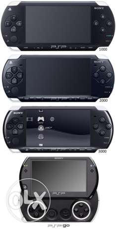 Used PSPs with many games perfect condition PSP مستخدم السيب -  1