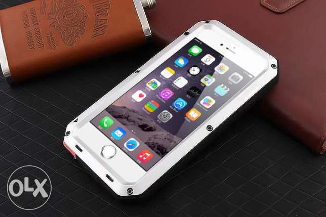 IPhone 6 6s and 7 Metal Case Shock Dropproof Rain-Waterproof مسقط -  1
