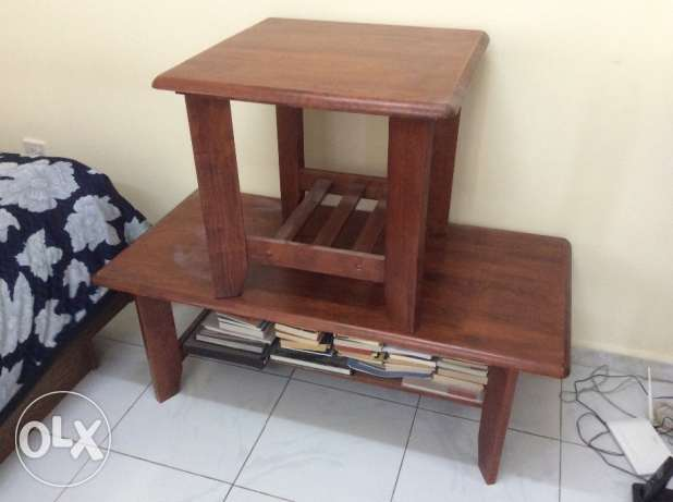 Center table and side table