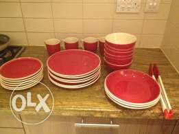 Dinner set ,48 pieces,little used,for sale.