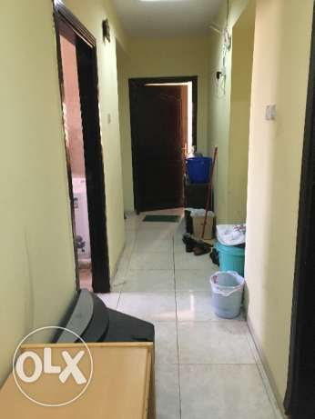 Sharing bed space for rent with attached bathroom only 65 Omr
