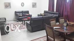 furnished flat for rent in alqurom in a good location .