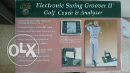 Electronic swing Groove I I Colf coach and analyzer
