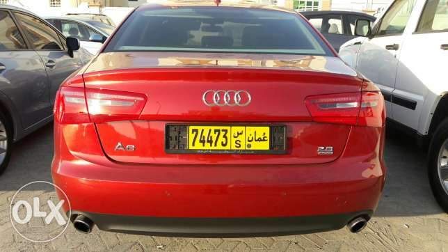 2012 audi a6 . Km 50000 . Available instalment monthly 160 مسقط -  2