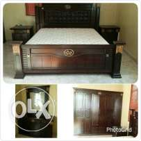 Master bed room and girls room furniture for sale used 2-3 month