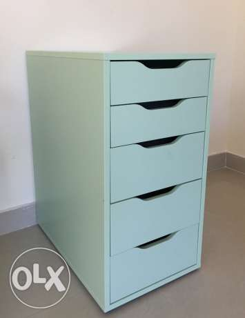 Drawers and desk from IKEA for sale