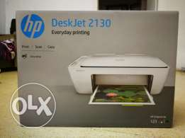 HP Deskjet 2130 color printer & scanner