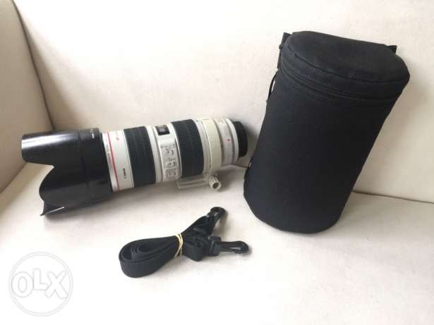 Canon 70-200mm, F2.8, IS, USM