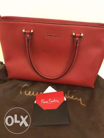 Original leather Pierre Cardin bag (Brand New)