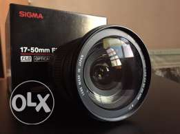 sigma 17-50mm f2.8 for canon crop cameras