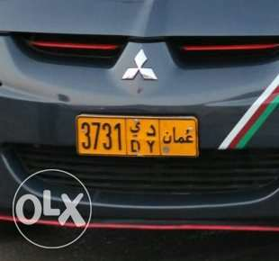 Car number plate for sale مطرح -  2