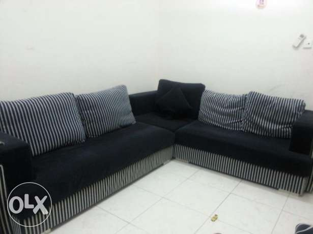 L Type sofa set 5 seater