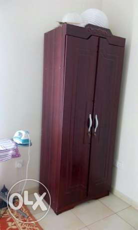 bed+mattress+wardrobe for sale مسقط -  2