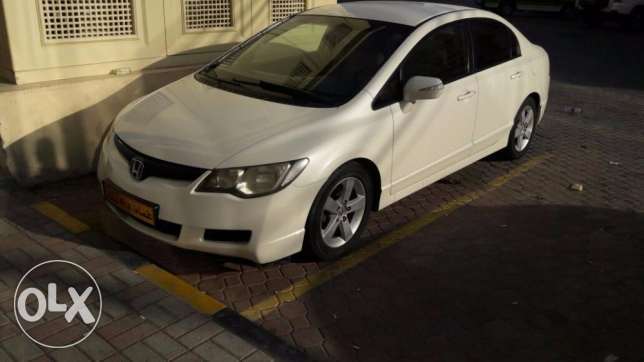 Honda Civic (2006) 1.8 White Automatic for Sale Urgently Expat Leaving مسقط -  1