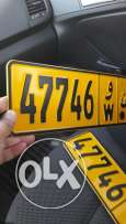 Sale number plate
