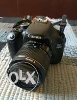 Canon 600D with 18-55mm