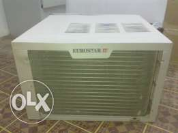 Split A/C (Euro star) 1.5 TR Good condition available for sale.