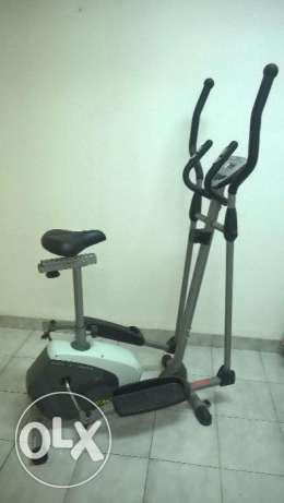 Expact leaving/ Magnet Eliptical Trainer (Excersice cycle) for sale