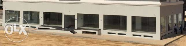 Showroom Space with Store For Rent in Bawshar near Al Ameen Mosque